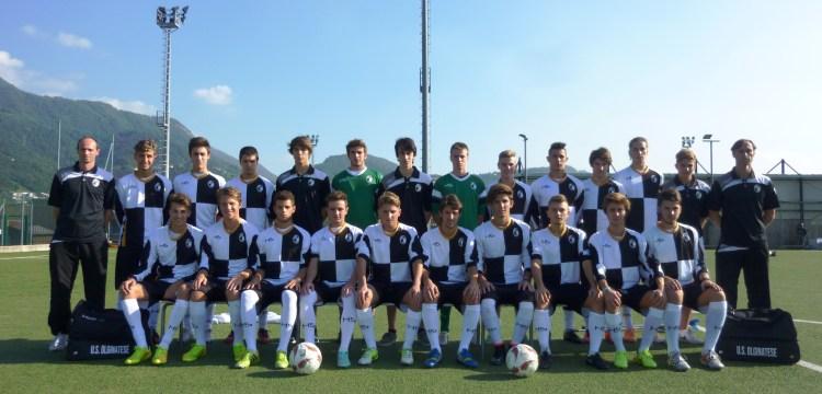 Olginatese - La formazione degli Juniores Nazionali allenata da Andrea Galli