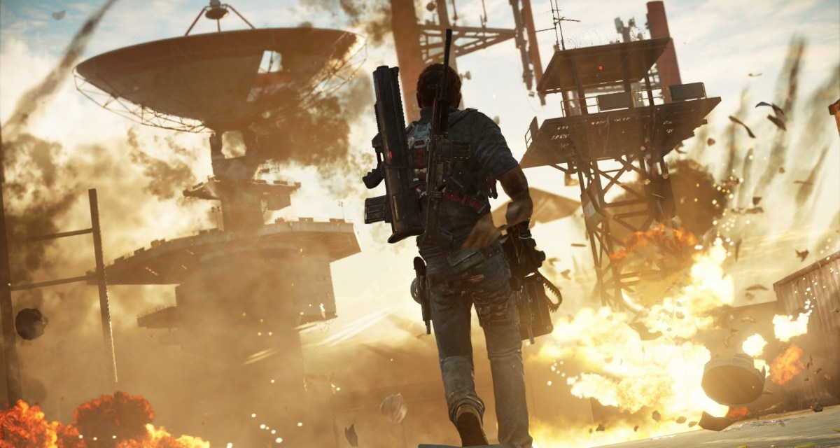 E3 2015 – Just Cause 3 gameplay shown off with utterly insane trailer