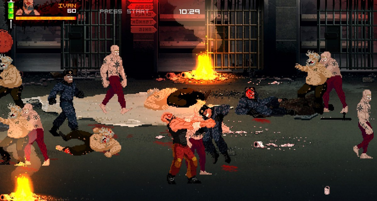 Brutal co-op brawler Mother Russia Bleeds hitting Playstation 4 and PC in 2016