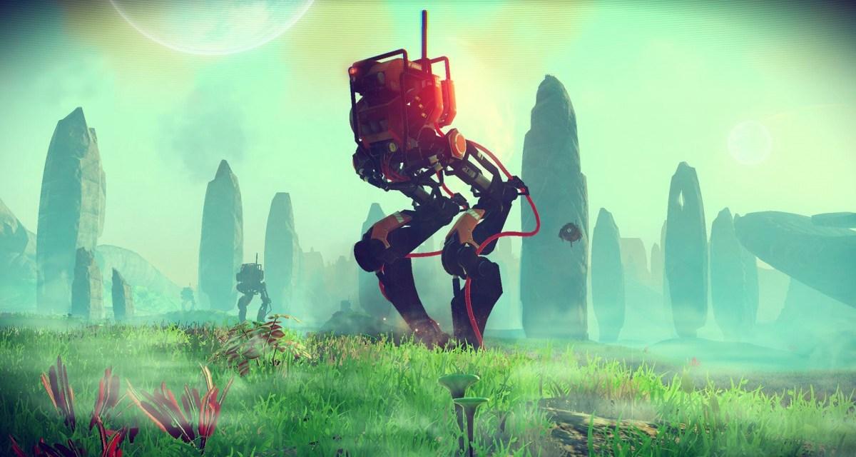 E3 2015 – Epic No Man's Sky live gameplay footage revealed