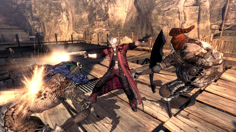 Devil May Cry 4 Special Edition launches on Playstation 4, Xbox One and Steam today