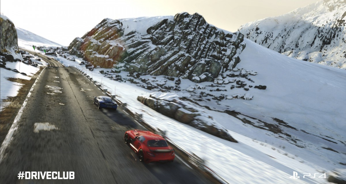 DRIVECLUB Playstation Plus Edition has finally launched!
