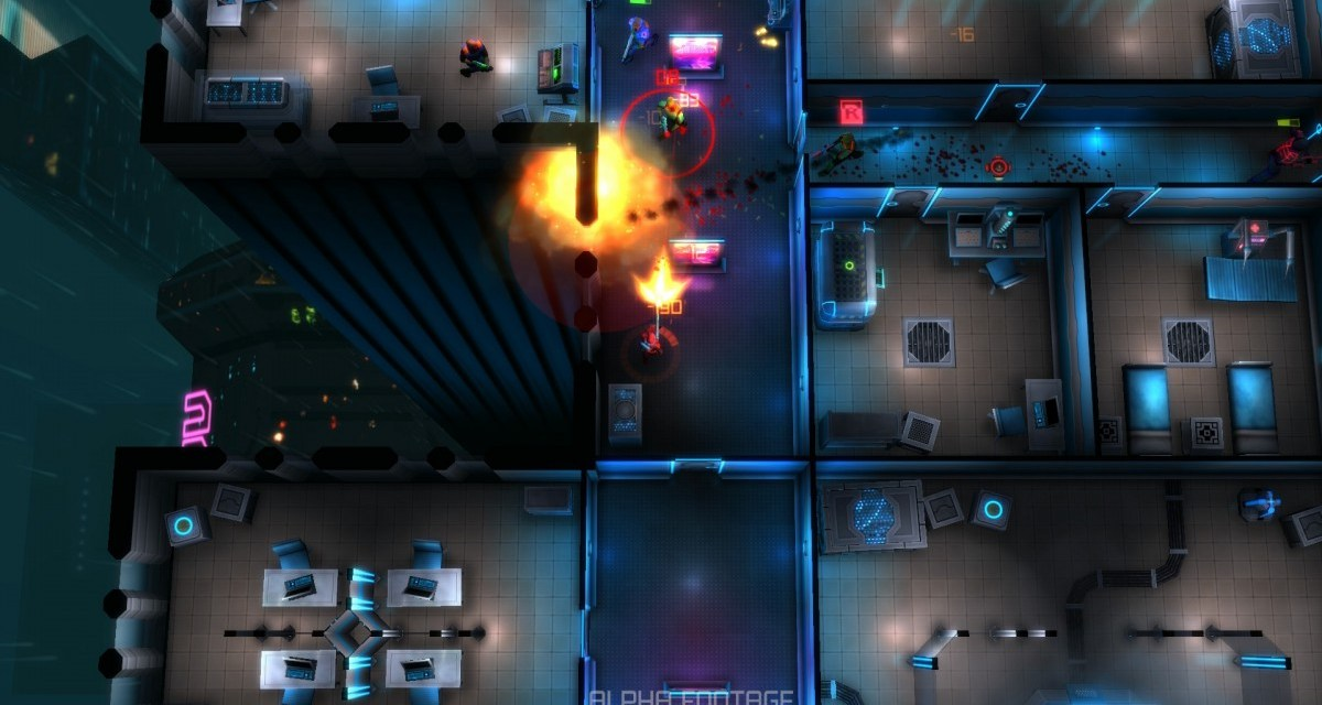 Top-down cyberpunk shooter Neonchrome hitting Playstation 4, Xbox One and PC later this year