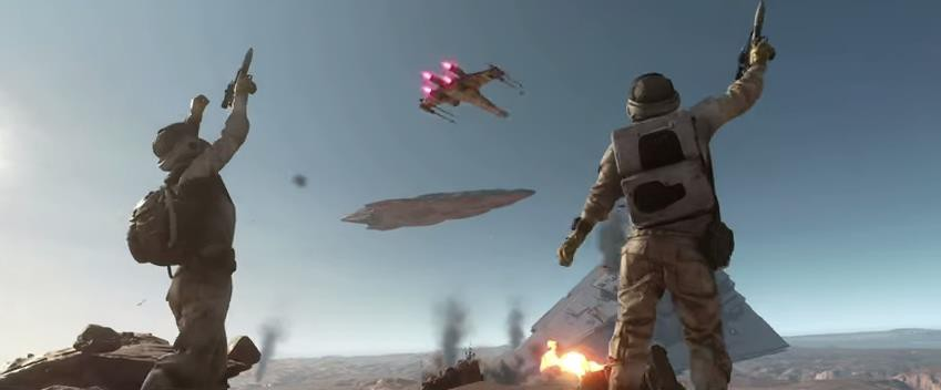 E3 2015 – Co-op gameplay revealed for Star Wars: Battlefront