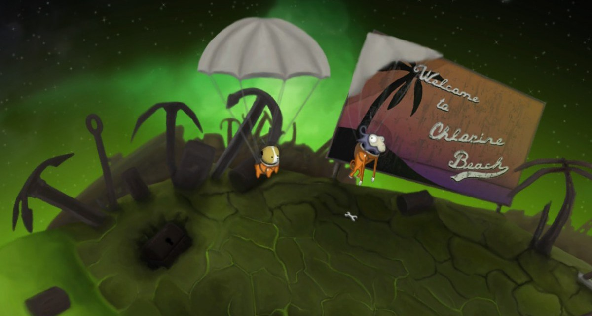 Intergalatic point and click adventure featuring a monkey and a dog Tales Of Cosmos demo now available