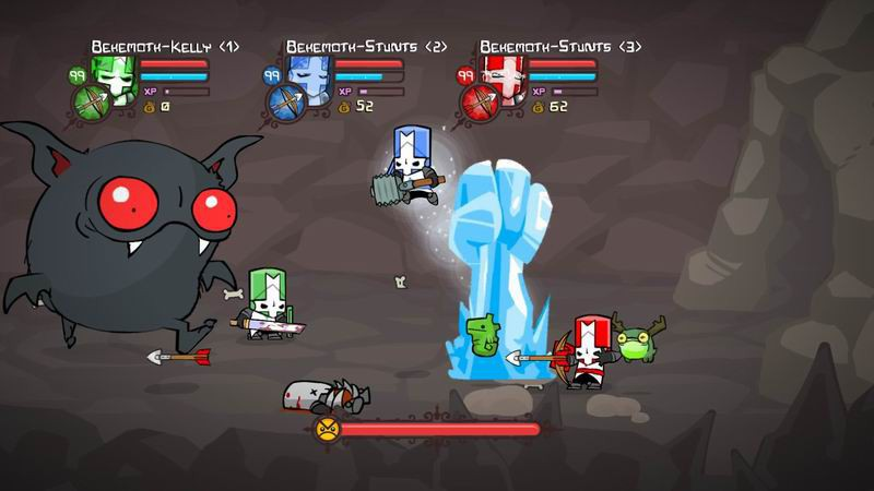 REVIEW - Castle Crashers: Remastered - Use a Potion!