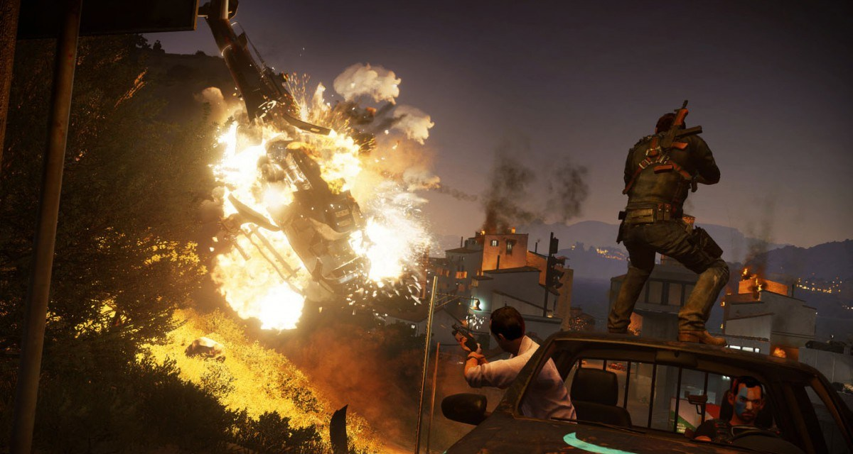 New trailer for Just Cause 3 reveals mission based gameplay