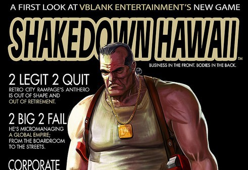Retro City Rampage dev confirms new release, Shakedown Hawaii