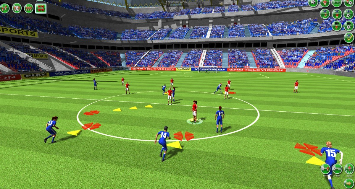 Turn based soccer simulation Tactical Soccer: The New Season now available
