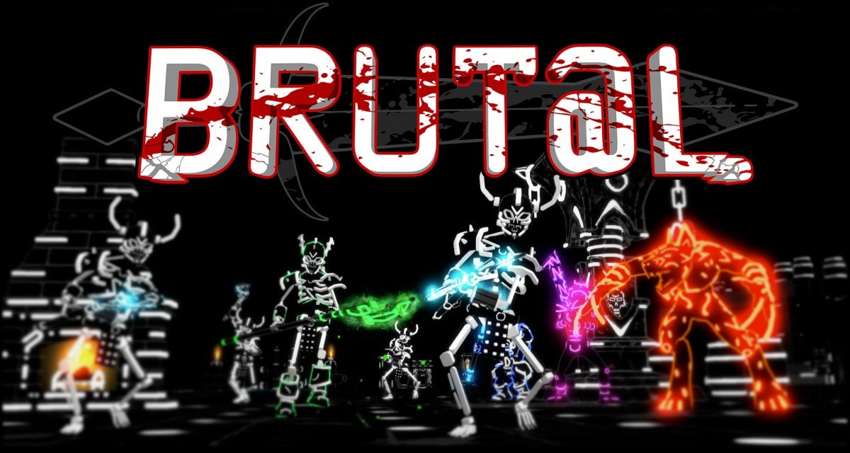 ASCII stylized dungeon crawler Brut@l revealed for Playstation 4