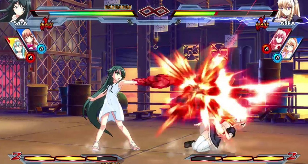 2D fighter Nitroplus Blasterz: Heroines Infinite Duel launching on Sony consoles early 2016