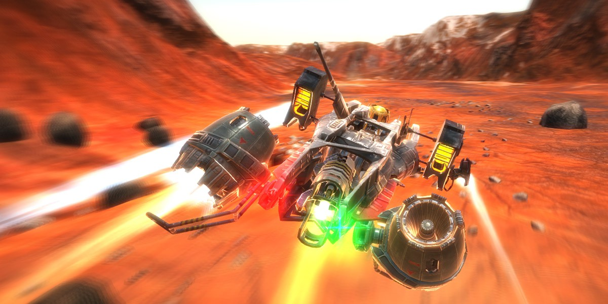Physics based racer Vector 36 hits consoles next year