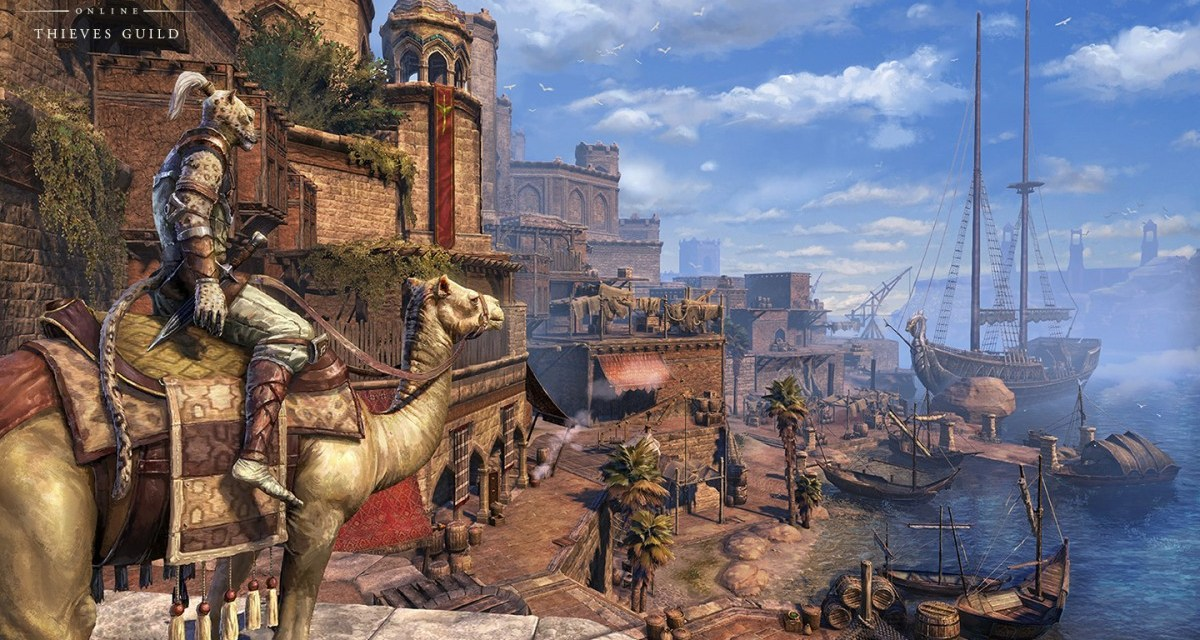 The Elder Scrolls Online Thieves Guild expansion detailed in new video