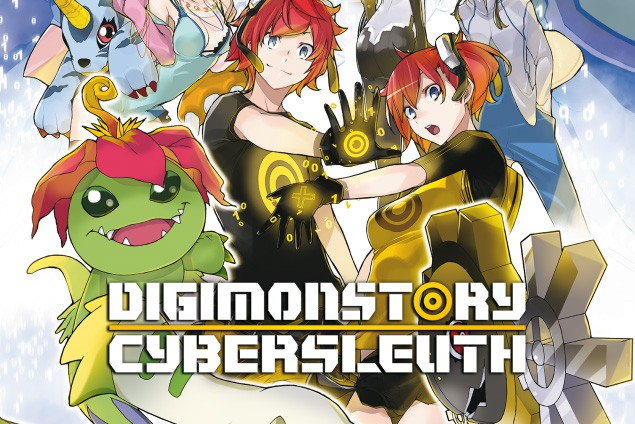 Digimon Story Cyber Sleuth launches today for Playstation 4 and Playstation Vita