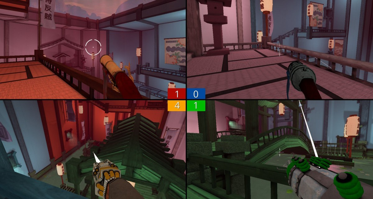 Split-screen multiplayer FPS Screencheat coming to consoles in March