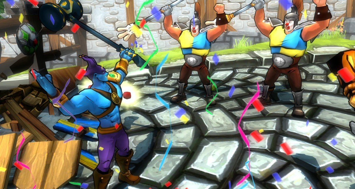 Comedic old school brawler Masquerade: The Baubles Of Doom coming to consoles and PC in April