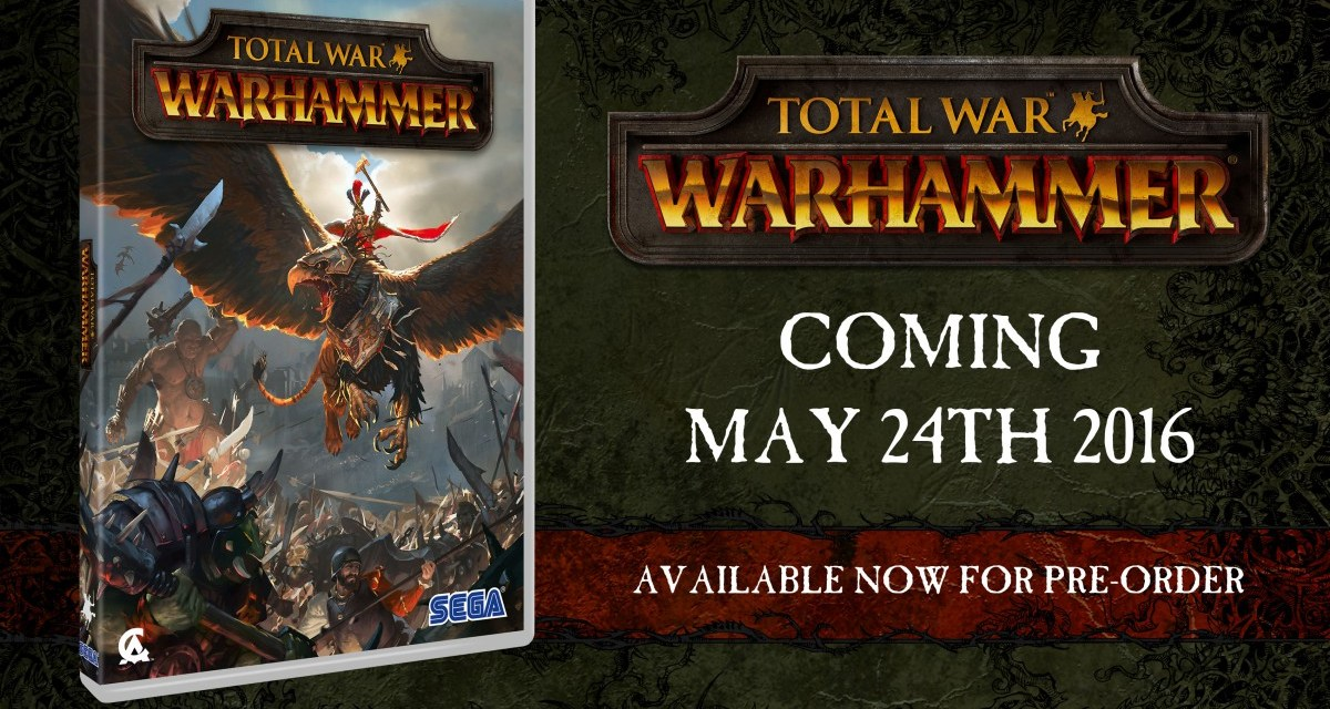Total War: WARHAMMER delayed into May – PC specifications revealed