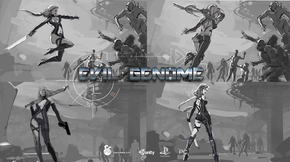 Metroidvania styled action title Evil Genome hits Kickstarter