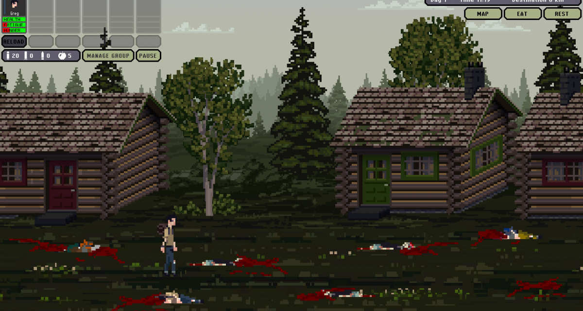 Rogue-like zombie survival title March of the Living hits PC later this month