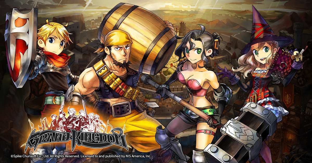 Character classes revealed for upcoming RPG Grand Kingdom