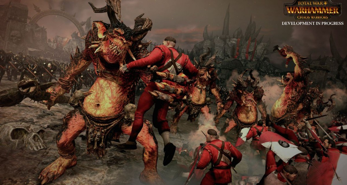 Chaos Warriors DLC will be free for all early adopters of Total War: Warhammer