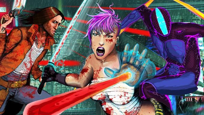Blood-soaked slice 'n' dice title Gunkatana hits Kickstarter