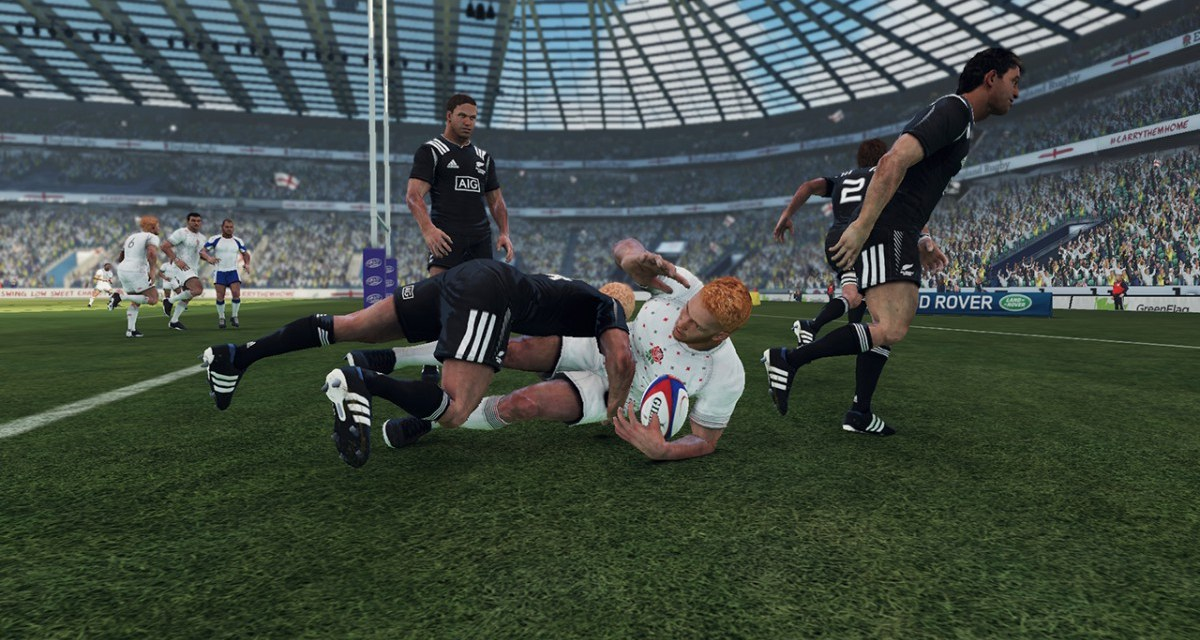 First gameplay trailer revealed for Rugby Challenge 3
