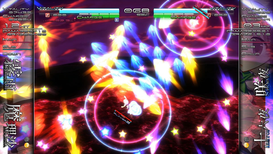 Fighter/schmup hybrid Touhou Genso Rondo: Bullet Ballet getting Western release in September
