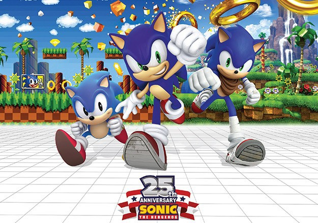 Grab some rings with the new 'Sonic The Hedgehog 25th Anniversary' Humble Bundle