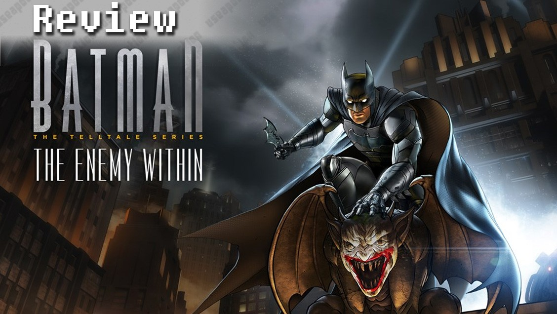 Batman – The Telltale Series: The Enemy Within (Episode One: 'The Enigma')   REVIEW
