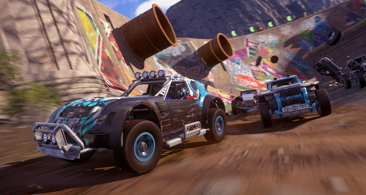NEWS: Frantic arcade-racer ONRUSH gets ranked multiplayer starting today