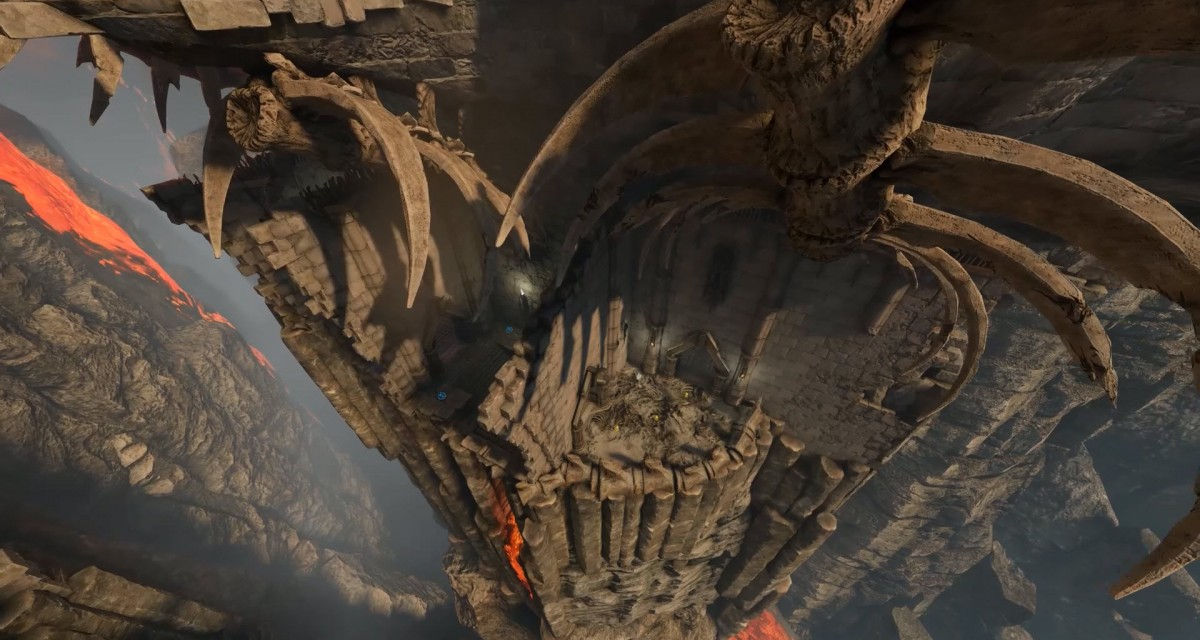 NEWS: Quake Champions' new 'The Molten Falls' arena is now live