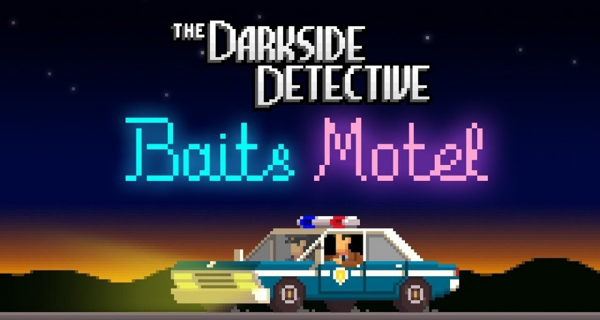 NEWS: The Darkside Detective's season one finale 'Baits Motel' launches on PC today for free