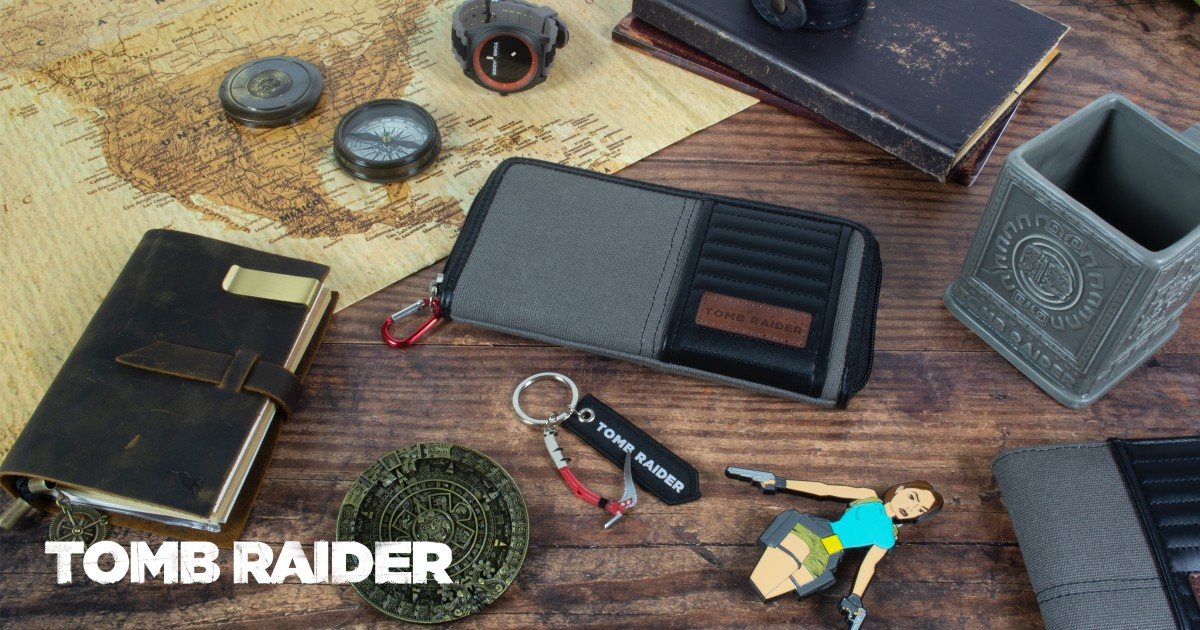 NEWS: Numskull Designs are releasing some awesome Tomb Raider merch next month