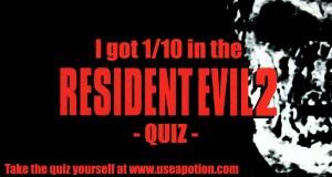 Resident Evil 2 Quiz
