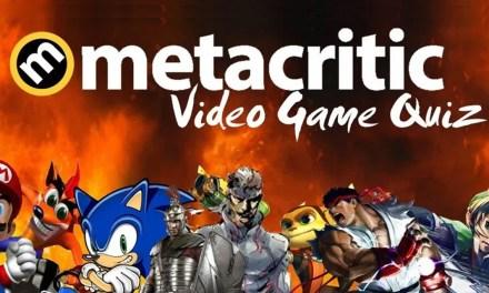 QUIZ: The Metacritic Video Game Quiz
