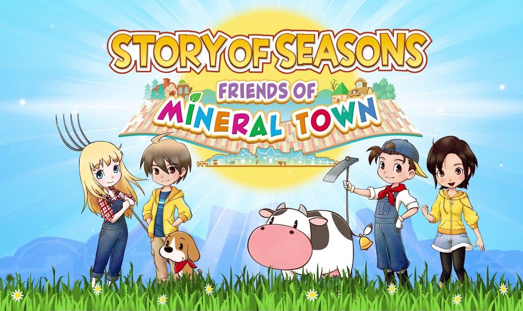 Story of Seasons: Friends of Mineral Town brings farming fun to the Nintendo Switch today