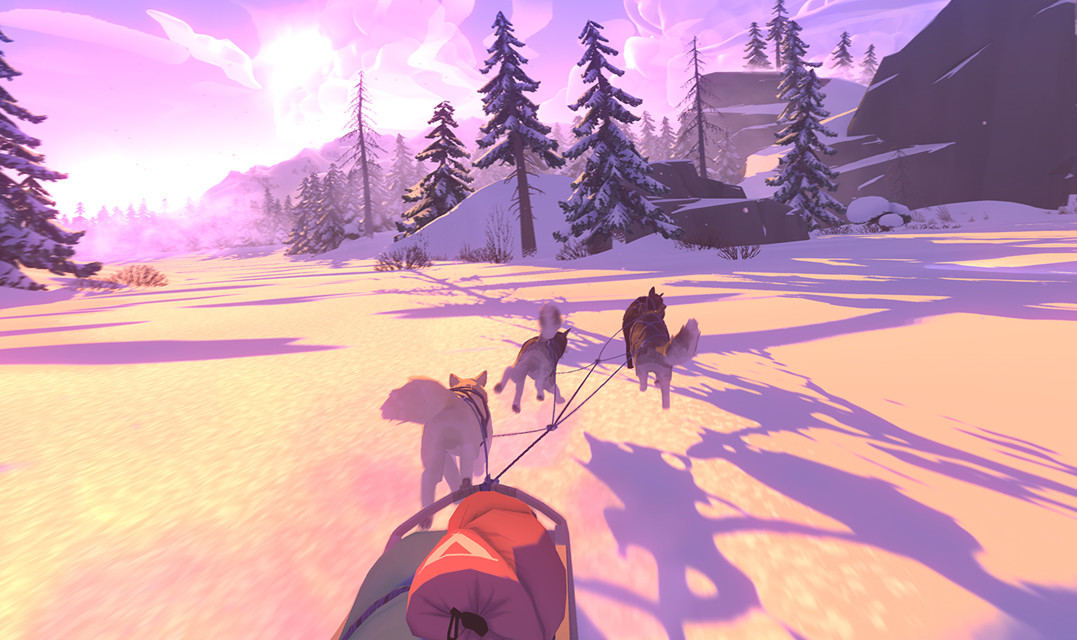 Dog-sledding survival game The Red Lantern hits the Nintendo Switch and PC later this month