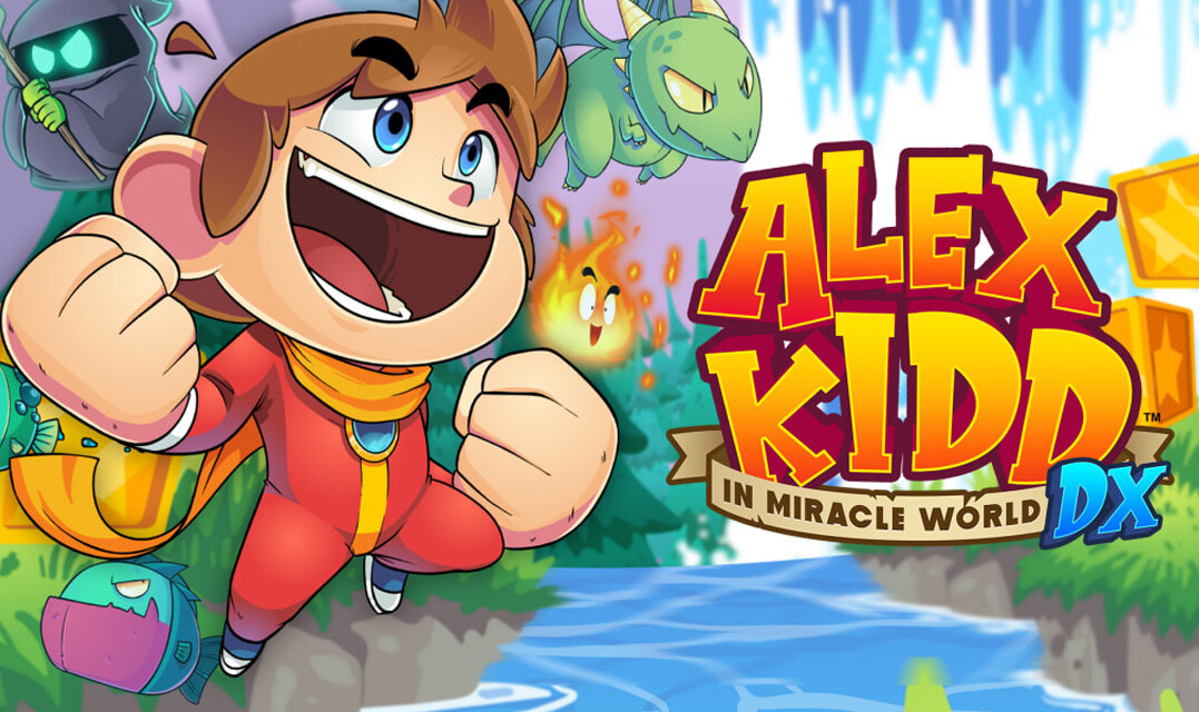 Alex Kidd in Miracle World DX [Nintendo Switch]   REVIEW