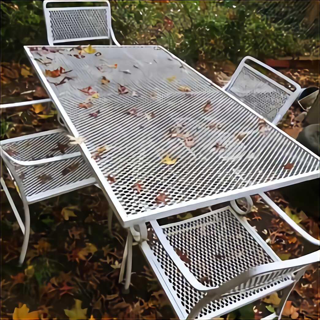 wrought iron patio furniture for sale