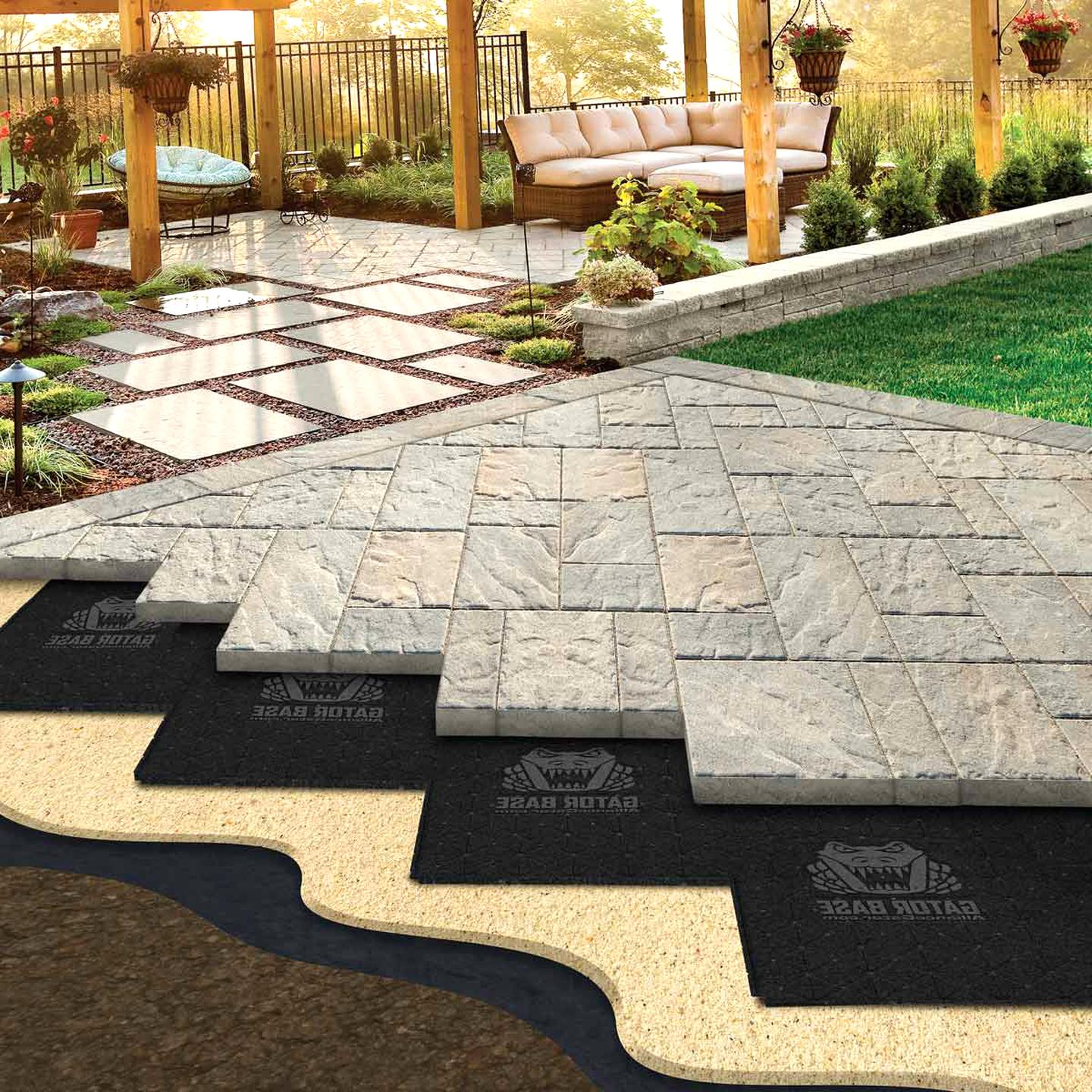 patio pavers for sale compared to