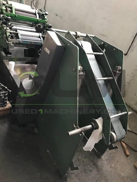 Μηχανή κοπής χαρτοπετσέτες ατύπωτη