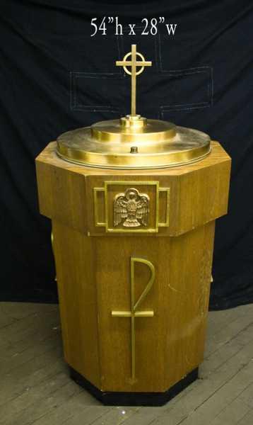 Baptismals Used Church Items