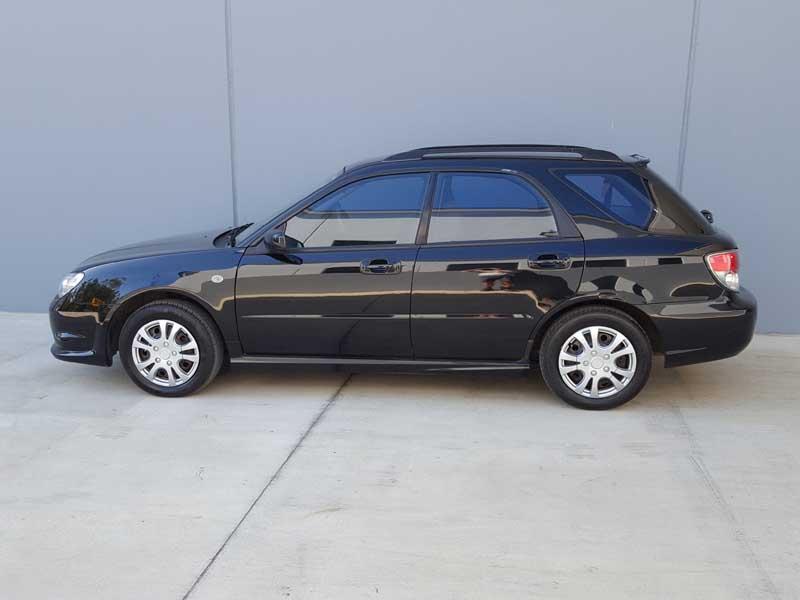 2006 Automatic Subaru Impreza Hatchback Black Used
