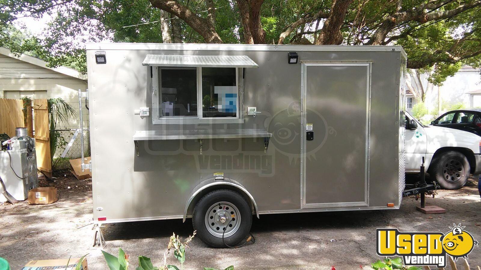 2018 6 x 12 food concession trailer for sale in north carolina