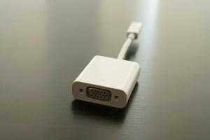 Mac用VGAアダプター