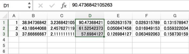 Excelのセルの削除前