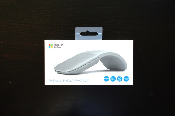 Surface Arc Mouseの外箱