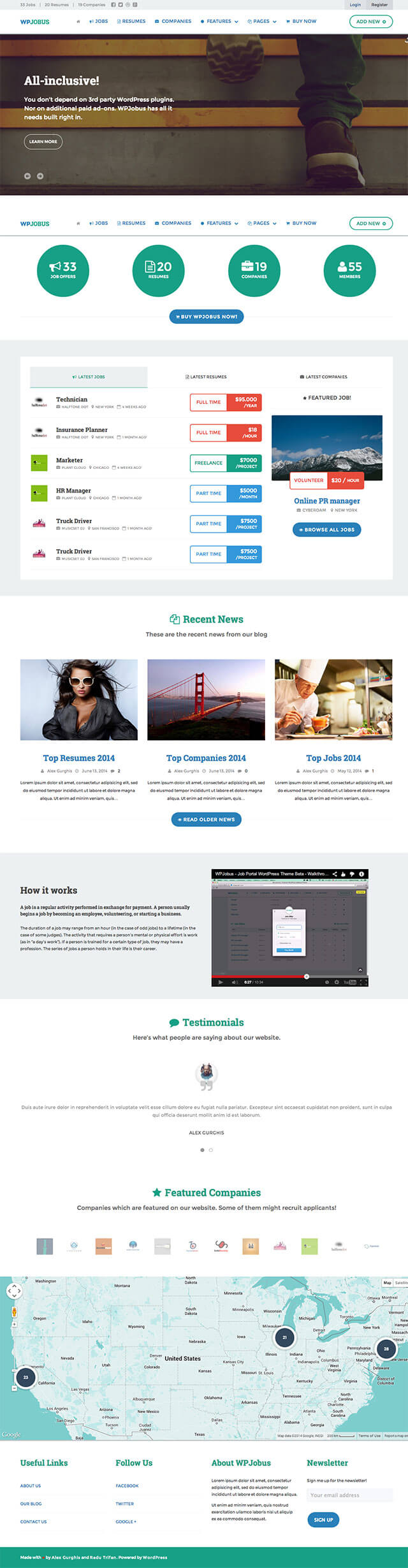 12 best job board wordpress themes 2017 useful blogging wpjobus has been designed to make it as easy as possible to build a job board portal website wordpress however this theme can also be setup to