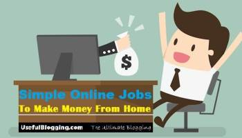 7 simple online jobs to make money from home 2018